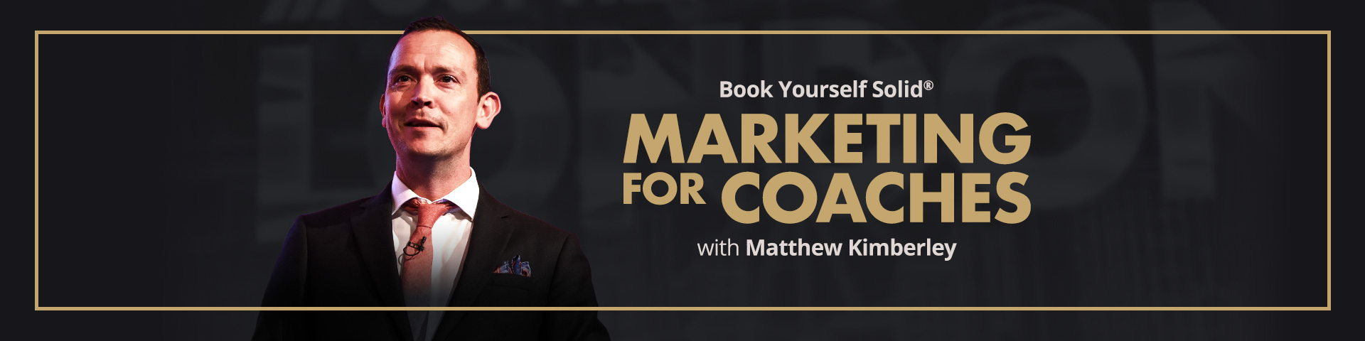 Marketing for Coaches from Matthew Kimberley