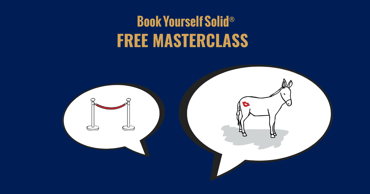 Take The Free Book Yourself Solid Masterclass